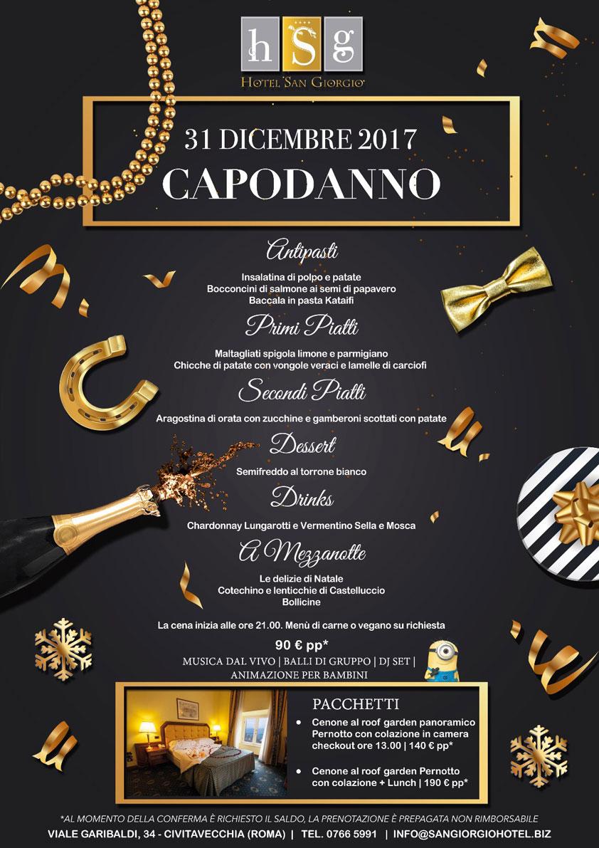 Capodanno 2018 - Hotel San Giorgio