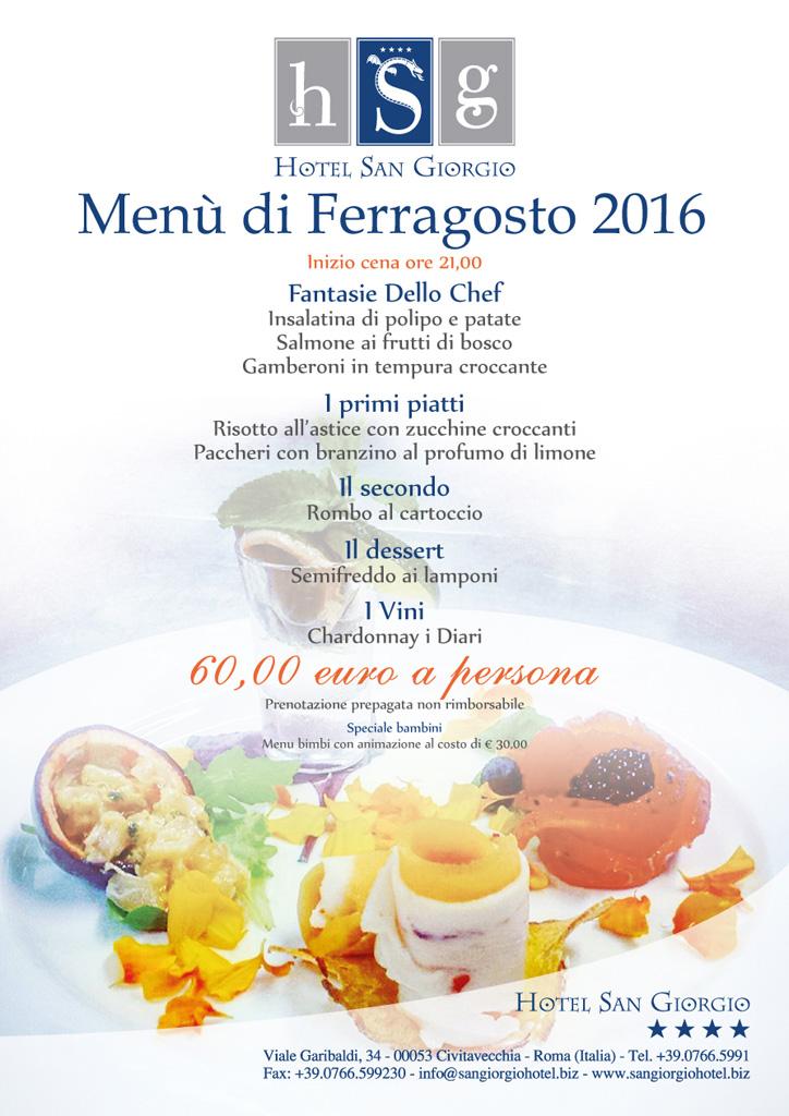 Ferragosto - Hotel San Giorgio