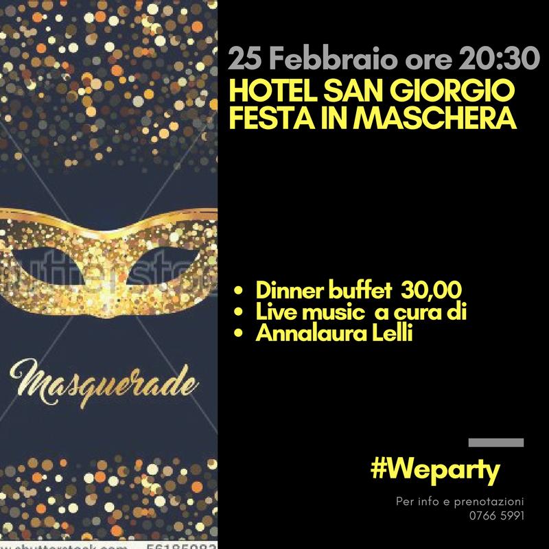 Festa in Maschera - Hotel San Giorgio