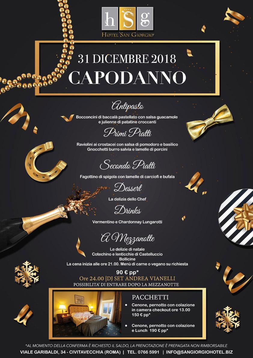 Capodanno 2019 - Hotel San Giorgio