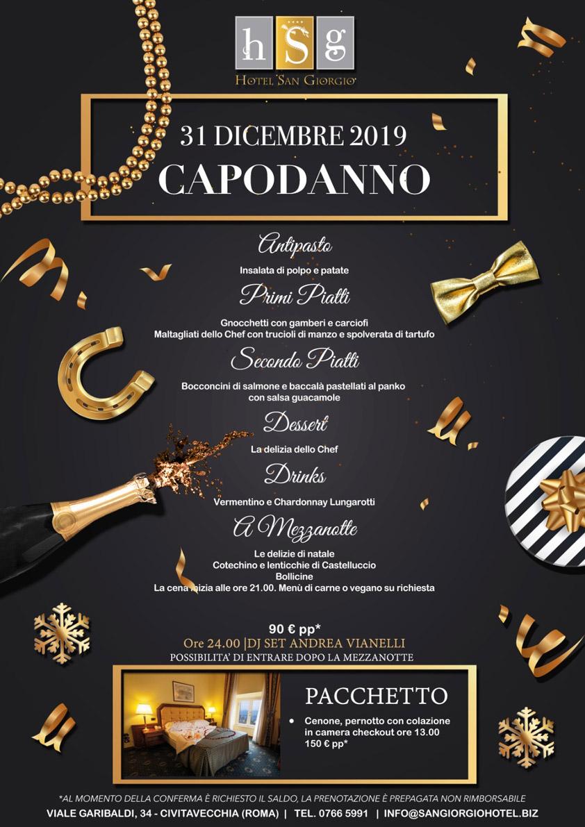 31 Dicembre 2019 - Capodanno - Hotel San Giorgio
