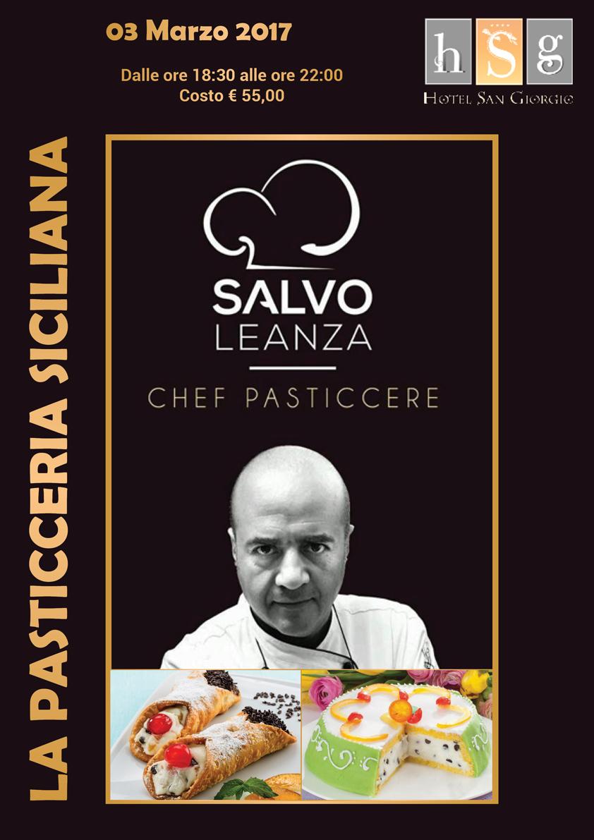 La Pasticceria Siciliana con Salvo Leanza - Hotel San Giorgio