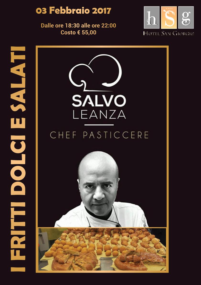 Fritti Dolci e Salati con Salvo Leanza - Hotel San Giorgio