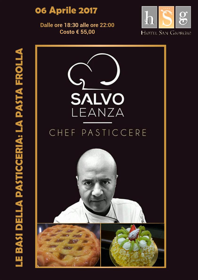 Le basi della pasticceria con Salvo Leanza - Hotel San Giorgio