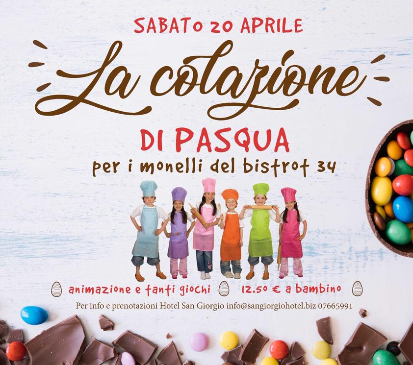 Monelli Fornelli - Colazione di Pasqua - Hotel San Giorgio