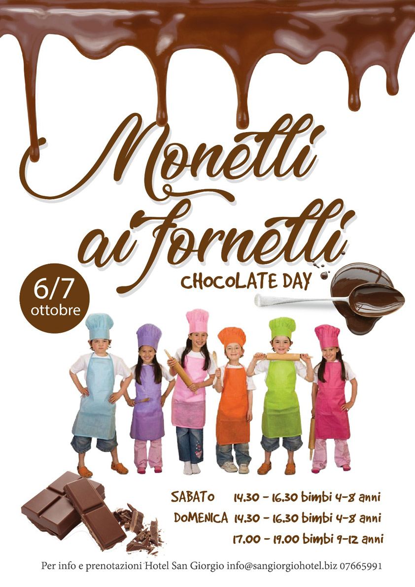 Monelli ai Fornelli - Chocolate Day - Hotel San Giorgio