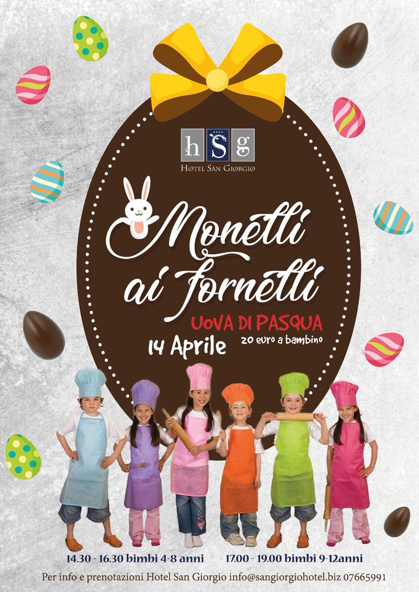 Monelli ai fornelli - Pasqua 2019 - Hotel San Giorgio