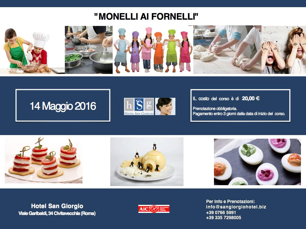 Monelli ai fornelli - Hotel San Giorgio