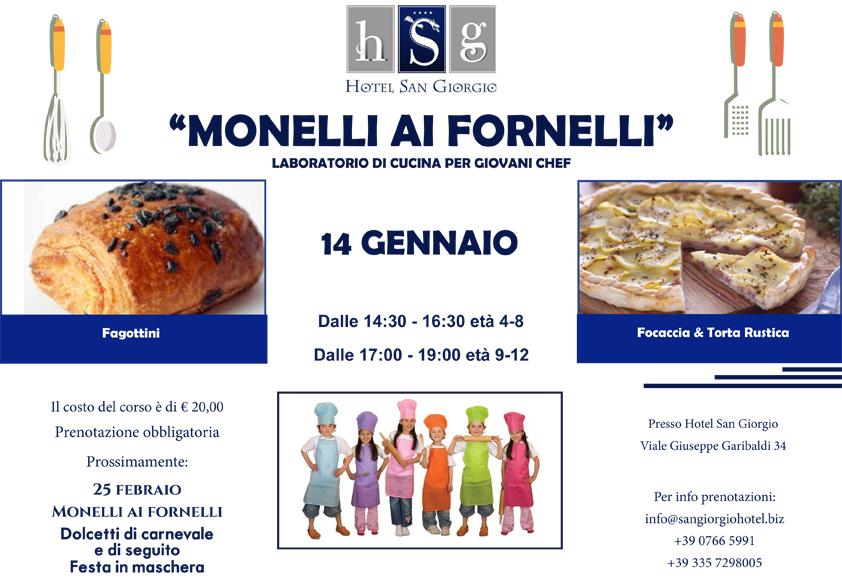 Laboratorio di cucina per Giovani Chef - Hotel San Giorgio