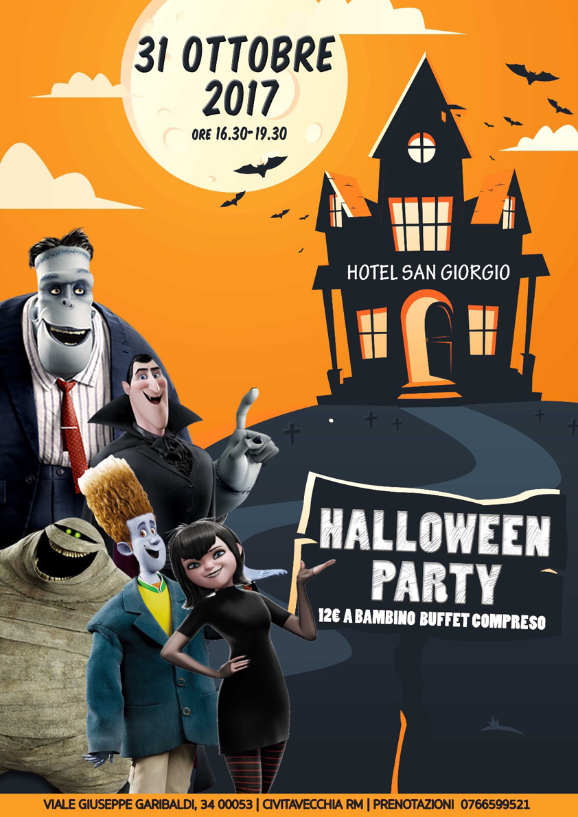 Halloween Party 2017 - Hotel San Giorgio