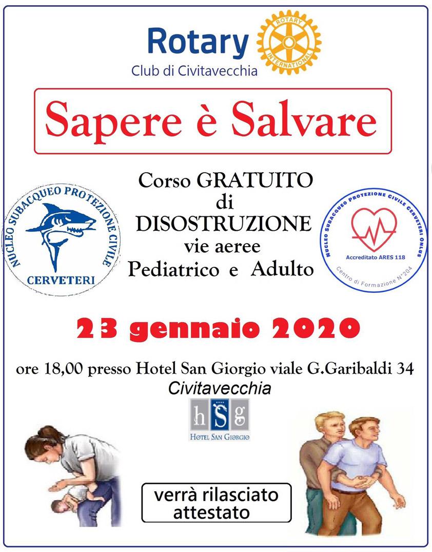 Sapere è Salvare - Hotel San Giorgio