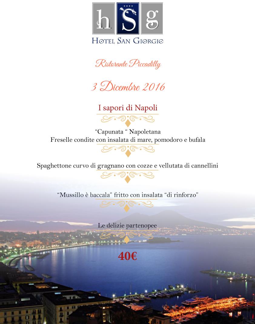 Menù Tradizione Innovazione - Hotel San Giorgio